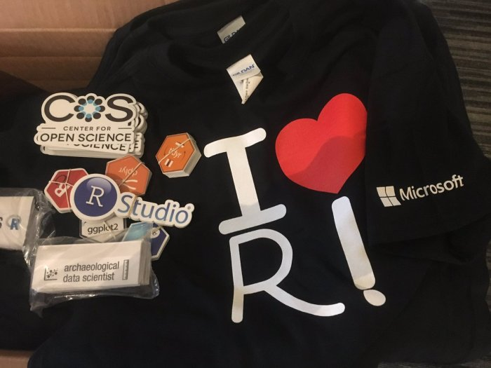 R is for Archaeology: A report on the 2017 Society of American Archaeology meeting, by B Marwick